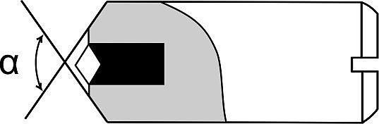 Тип 1 - с цилиндрической оправкой