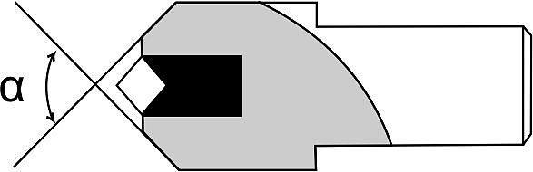 Алмазы в оправе Тип 2 - с цилиндрической головкой