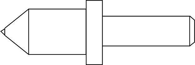 Наконечник ''НК'' для измерения твердости по методу Роквелла